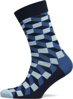 Filled Optic Sock Underwear Socks Regular Socks Blå Happy Socks