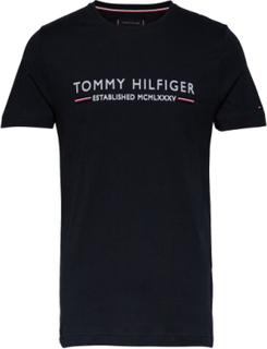 Tommy Hilfiger Essen T-shirt Blå Tommy Hilfiger