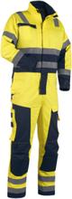 Blåkläder Vinteroverall 63681530 Gul/marinblå-C60