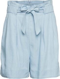 Sophia Shorts Shorts Flowy Shorts/Casual Shorts Blå SECOND FEMALE
