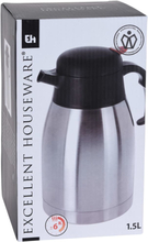 Excellent Houseware termokande 1,5 l rustfrit stål