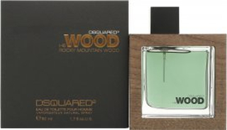 DSquared2 Rocky Mountain Wood Eau de Toilette 50ml Sprej