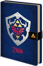 Legend of Zelda Notatbok Hylian Shield