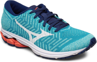 Waveknit R2 Shoes Sport Shoes Running Shoes Blå MIZUNO
