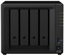 Synology DS918+ NAS for 4 harddisker