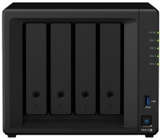 Synology DS918+ NAS for 4 harddisker
