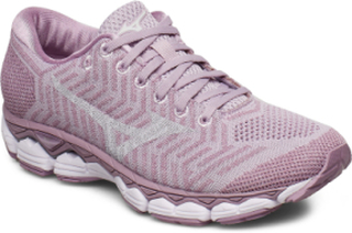 Waveknit S1 Shoes Sport Shoes Running Shoes Rosa MIZUNO