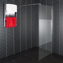 Arrow Duschvägg Wall-900-Delvis Frostat Glas
