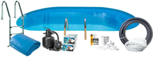 Swim & Fun Pool Basic InGround 120 700x320 cm