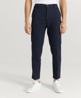 Les Deux Bukse Pascal Elastic Waist Pants Blå