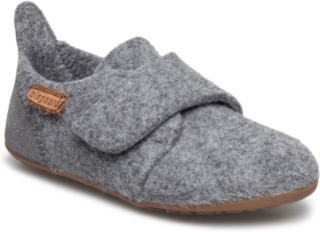 Home Shoe - Wool Velcro