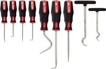 KS Tools Plock och ritskroksats 9 delar
