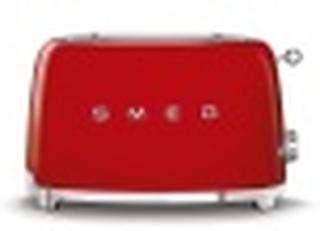 Smeg Toaster 2 Slices Red