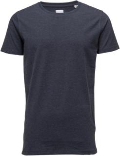 Mensstretchcrewnecktees/S T-shirts Short-sleeved Blå LINDBERGH