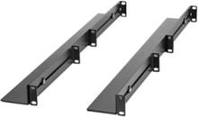1U Server Rack Rails with Adjustable Mounting Depth - 4 post rack rail kit - 1U