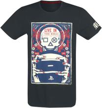 Playstation - Play In Ours -T-skjorte - svart