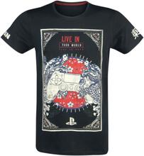 Playstation - Controller -T-skjorte - svart