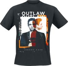 Johnny Cash - Mugshot -T-skjorte - svart