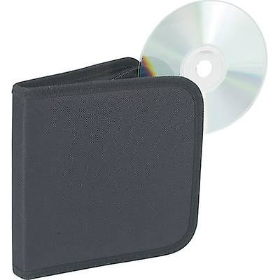 CD vesker 12 CDer/DVDer/Blu-stråler Nylon svart 1 eller flere PCer (L