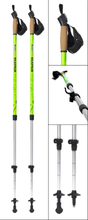 BungyPump Walkathlon-Staver med dobbel funksjon