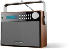 DR-P350 - DAB/DAB+/FM - Stereo - Brun