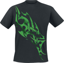 Green Smoky Tribal - -T-skjorte - svart