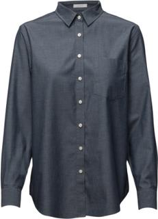 Darbyoxfsh Långärmad Skjorta Blå PEAK PERFORMANCE