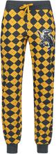 Harry Potter - Hufflepuff -Pyjamasbukser - gul, grå