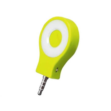 Kompakt Selfie Lampa med Tre Ljuslägen - Grön