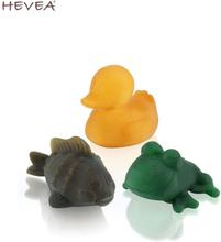 Hevea - Pond (Teich) - Ente, Frosch, Fisch - 3er SET - Farbig