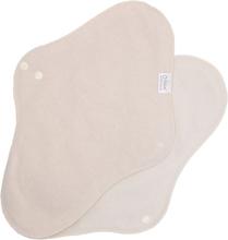 Myllymuksut - Maijat Stoffbinden (alle Größen) - 100% Bio-Baumwolle - Nachtbinde (Maxi) | Natur