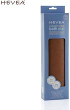 Hevea - Badewanneneinlage (100% Naturkautschuk) - Anti-Rutsch-Matte (55x32 cm) - Natur