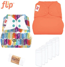 Flip - Überhosen One Size (Druckies) - Einsteiger Paket