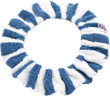 Kabea - Windelfrei Töpfchenbezug - 100% Bio-Baumwolle (Frottee) - Blau & Weiß (gestreift)