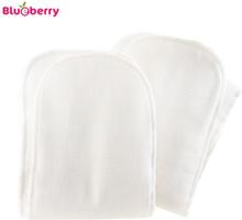 Blueberry - Capri Einlagen (Baumwolle & Mikrofaser) - 2 Stück - Newborn (55x10 cm)