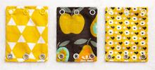 Milchmädchen - Bodyerweiterung (Bodyverlängerung) - Alle Farben (je 3 Stück) - Apfel (Gelb)
