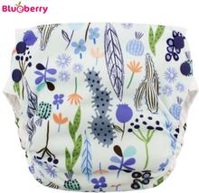 Blueberry - Simplex 2.0 Side Snap (AIO) - Bio-Baumwolle (GOTS) - Sedona - M (5-12 kg)