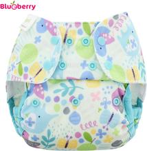 Blueberry - Capri 2.0 Überhose (Prefold) - Baby Birds - Newborn (2,7-7,5 kg)