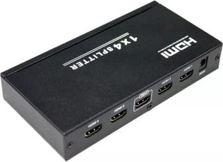 HDMI Splitter 1x4 (4 utgångar) med stöd för 3D - HDCP v1.4