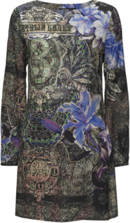 Vest Raul Knelang Kjole Svart DESIGUAL