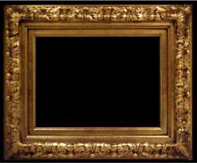 iEnjoy Träram i guld, innermått 60x90 cm