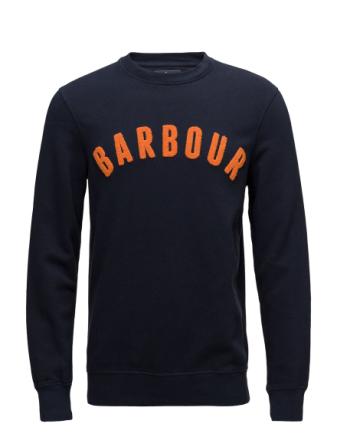 Barbour Prep Logo Crew