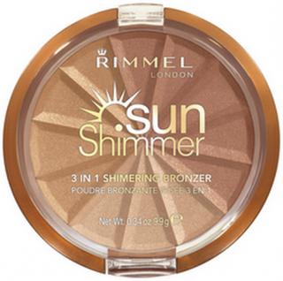 Rimmel Sun Shimmer 3in1 Shimmering Bronzer 002 Bronze Goddess 9,9 g