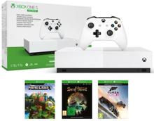 Xbox One S All Digital Edition + Sea of Thieves, Forza Horizon 3, Minecraft