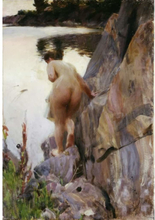 Steve Art Gallery Unknow work,Anders Zorn,60x40cm
