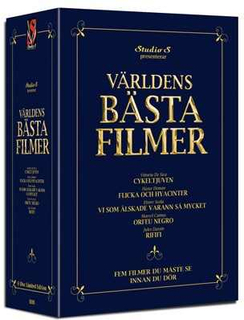 Världens bästa filmer - Boxset (5 disc)