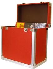 Vinylväska / Flightcase Röd