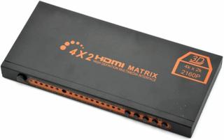 4x2 2160P HDMI True Matrix (Switch & Splitter) +SPDIF+COAX