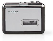 Nedis Bärbar USB-konverterare för kassett till MP3   med USB-kabel och programvara