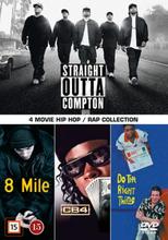 4 movie Hip-Hop / Rap collection